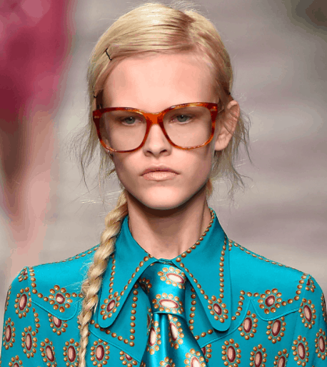 Twisted pony at Gucci