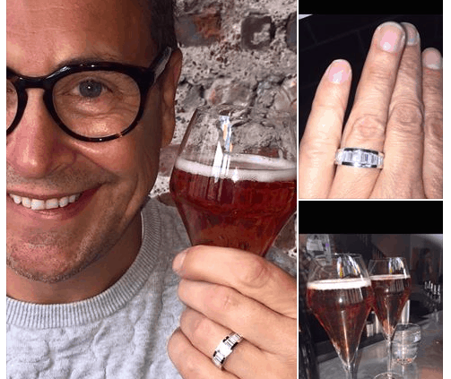 Stephen Webb Gogglebox engagement ring happiness